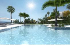 ALCAZABA Lagoon apartments, Casares, Costa del Sol.