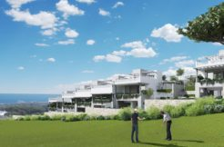 Townhouses on the  frontline golf Cabopino, Marbella.