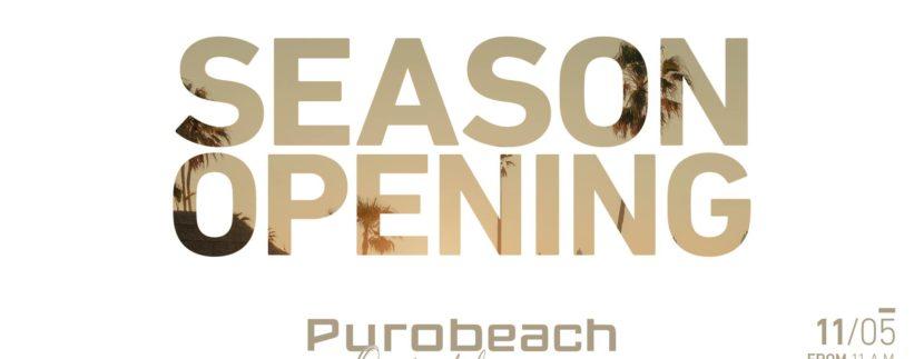 PuroBeach Season Opening 2018
