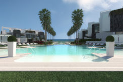 First line beach property The Island, Estepona, Costa del Sol.