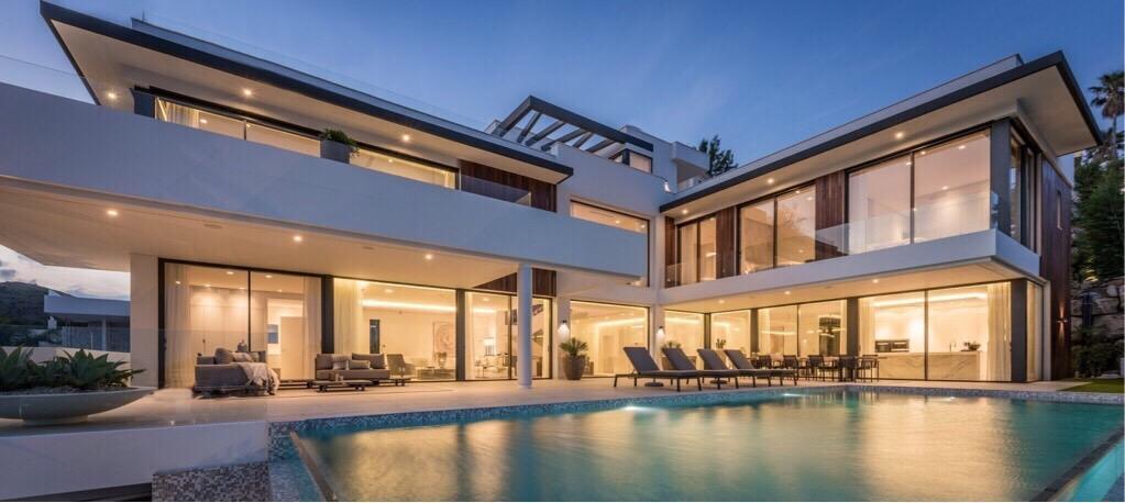 Contemporary New Built Villa, La Alqueria, Benahavis.